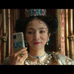 【キャプチャ20枚】 満島ひかり  UQ mobile 「UQUEEN 登場」篇 TVCM