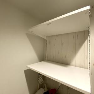 洗濯機上にIKEAボーアクセルで壁面収納DIYしてみた! その3