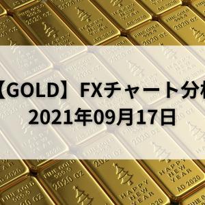 【GOLD】FXチャート分析【2021年09月17日】