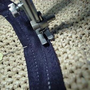 【図解】簡単!手編みの帽子に「スベリ」(内側にある布)をつける方法