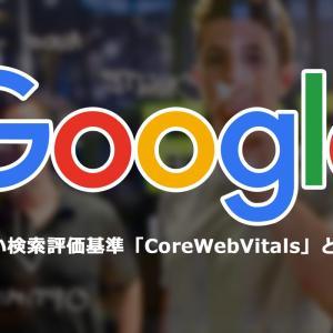 CoreWebVitals(コアウェブバイタル)への対策についてのお知らせ