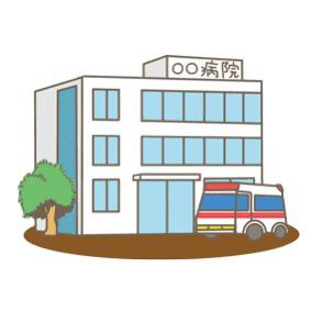 病院への恐怖と転院。
