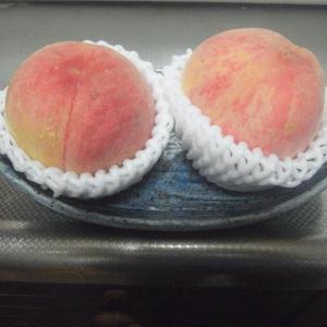 桃を食べると思うこと