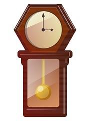 12時になると、よく時計が動くスロットを回した