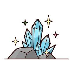 鉱山採掘して宝石見つけるスロットを回した