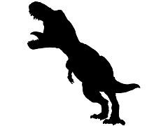 恐竜の影が近づいてくるスロットを回した