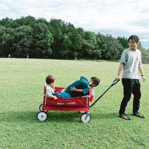【レビュー】ラジオフライヤー3in1イージーフォールドワゴンが子連れキャンパーにおすすめ。