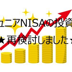 【組替実施】ジュニアNISAの投資を再検討しました