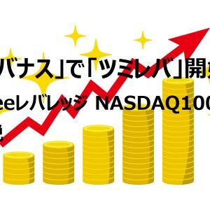 【一念発起】「レバナス」で「ツミレバ」を始めます! ~レバナス:iFreeレバレッジ NASDAQ100について解説~