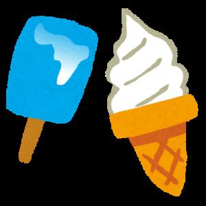桃栗のアイス