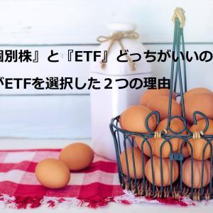 『個別株』と『ETF』どっちがいいの?私がETFを選択した2つの理由