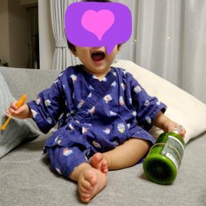 1歳の誕生日前後の変化#1 ついに前歯が!