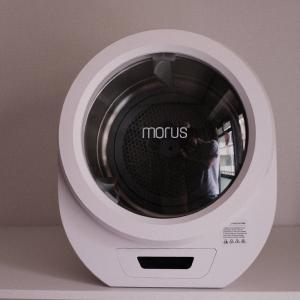 【実機レビュー】工事不要、賃貸でもコンセントに繋ぐだけで使え得る超小型の衣類乾燥機「Morus Zero」を紹介