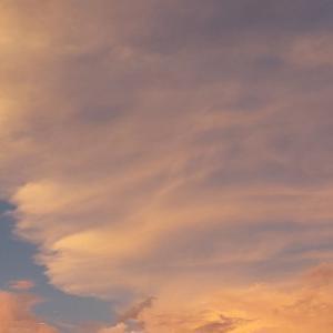 #2021日本の夏 #夏の雲 #PCR検査 #虹 #考えようによっては幸せ #コロナウイルスが早く終息しますように #台風14号
