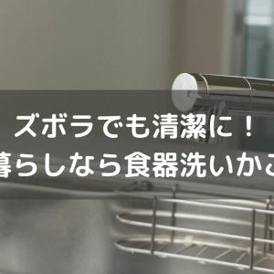 一人暮らしに食器洗いかごは不要。ズボラと清潔を両立しています