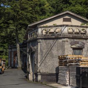 京都急ぎ旅・・旧九条山浄水場原水ポンプ室