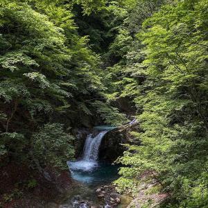 西沢渓谷のだめゾーン行けるとこまで行ってみる(竜神の滝)