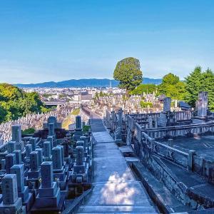 京都急ぎ旅・・朝の散歩の大谷本廟