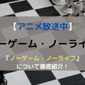 【アニメ再放送中】ノーゲーム・ノーライフの魅力を徹底紹介!