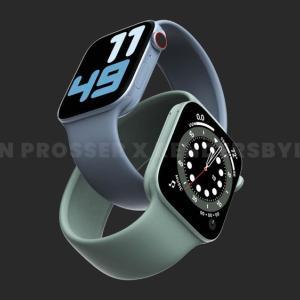 「Apple Watch 7」ディスプレイサイズや解像度など。量産は9月から?