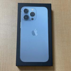 iPhone 13 Pro、購入。シエラブルー。開封写真。簡単な感想レビュー