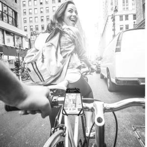 【新商品】衝撃吸収シリコンを採用した自転車・バイク用スマートフォンマウント2種類が発売