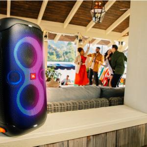 【新商品】防滴機能とアプリ対応でさらに進化した多目的スピーカーの決定版 パーティースピーカー「JBL PartyBox 110」が発売