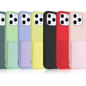 【新商品】便利なカードポケット付き!iPhone13mini/13/13Pro/13ProMax 対応のカードポケット付ソフトケースが発売