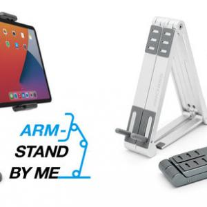 【新商品】モバイル機器スタンド「STAND BY ME」シリーズより、 様々なモバイル機器に対応可能な2つの新製品が発売
