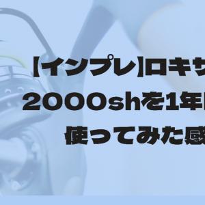 【インプレ】ロキサーニ2000shを1年間ほど使ってみた感想