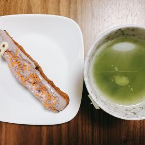 ラソラ札幌の「おにぎりや いしもり」でお惣菜ランチ。おやつはミスドのハロウィン。