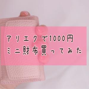 【アリエク】1000円で買ったお財布が意外と使いやすかった