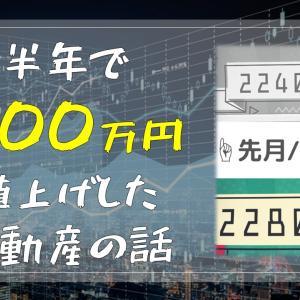 わずか半年で200万円値上げした区分マンション