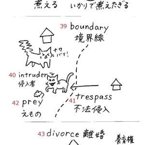 英検準1級 単語絵カードSet5 No.36~45 ≪解答≫