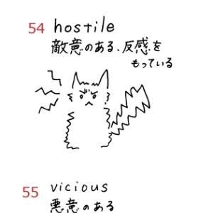 英検準1級 単語絵カードSet7 No.52~56 ≪解答≫
