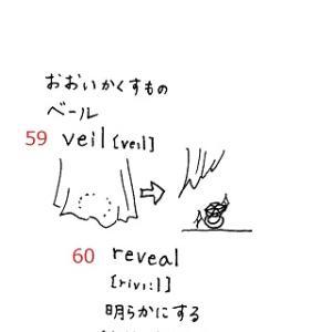 英検準1級 単語絵カードSet8 No.57~62 ≪解答≫