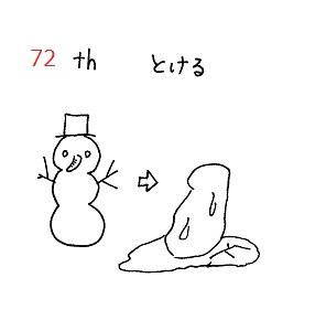 英検準1級 単語絵カードSet10 No.70~74 ≪問題≫