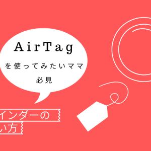 Apple Air Tagは、迷子防止には使えないよ、という話