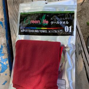 猛暑に備えて、スーパークールタオルを買ってみた