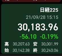 9月28日の株日記