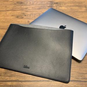 MacBookを気軽に持ち運ぶならコレ!【エレコムのレザースリーブケース】