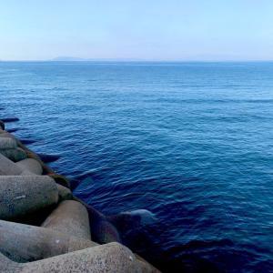 2021.8.30 地波止からフカセ釣り(チヌ、グレ)