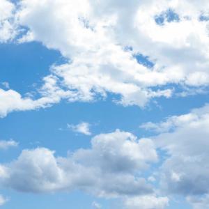 ひさしぶりの青空