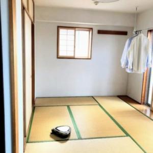和室の掃除と引き出し収納