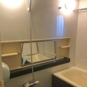 お風呂のマグネット収納