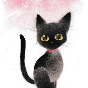 『黒猫』描いてみた