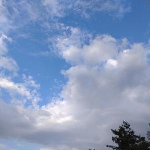 【秋彼岸】お墓参りで虹を見た!