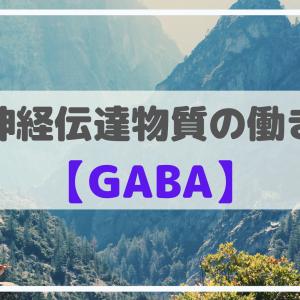 神経伝達物質の働き【GABA】