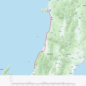 【2016】ロードバイクで日本縦断してみた(村上~大潟村編)