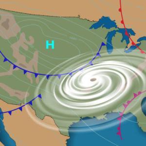なぜ台風は反時計回りなのか!北半球と南半球でも台風の回り方はおなじなの?
